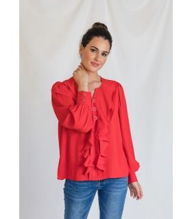 Blusa Johanne Rojo