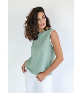 Camiseta Nur Verde Mar