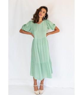 Vestido Manilva Verde Mar