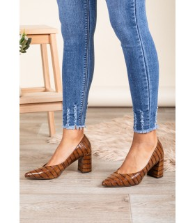 Zapatos Alyssa Marrón