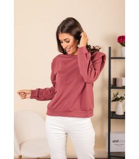 Camiseta Hombreras Rosa Oscuro