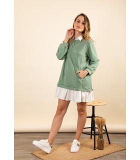 Vestido Sudadera Mint