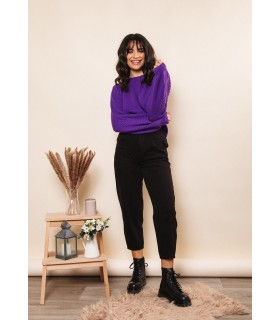 Jeans Slouchy Negro