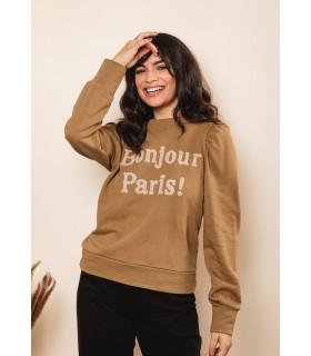 Sudadera Bonjour París