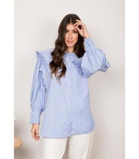 Camisa Isabela Celeste