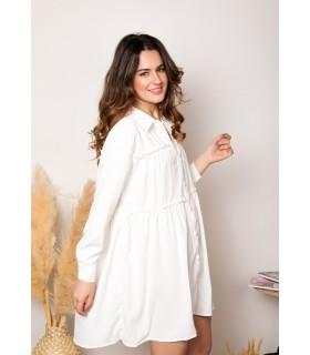 Vestido Haizea Blanco