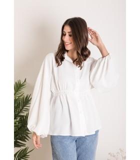 Camisa Idalia Blanca