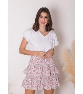 Falda Imara Blanca