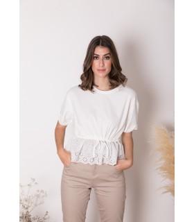 Camiseta Deva Blanco