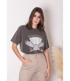 Camiseta Efecto Lavado Dreamer