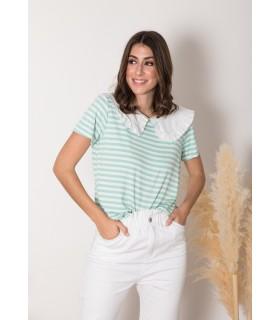 Camiseta Cindel Verde Mar