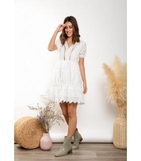 Vestido Daniela Troquelado