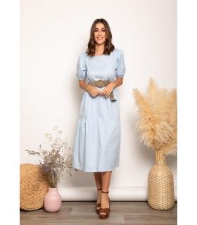 Vestido Sara Celeste