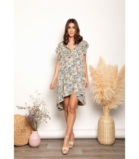 Vestido Elisa Flores