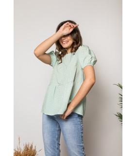 Blusa Vichy Verde
