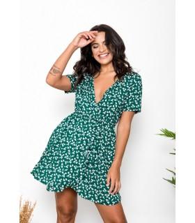 Vestido Namira Verde