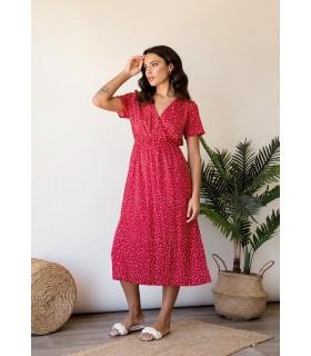 Vestido Antonella Rojo