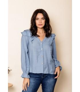 Camisa Carolina Azul