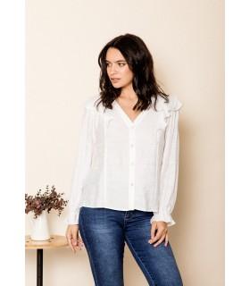 Camisa Carolina Blanco