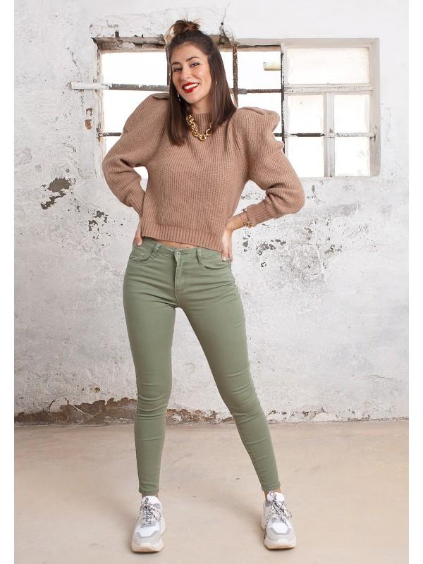Pantalones Basic Kaki