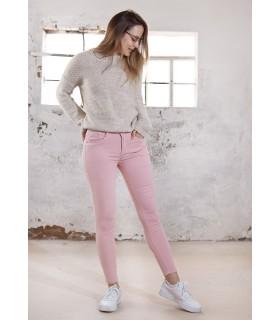 Pantalones Basic Rosa