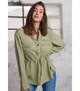 Camisa Safari Verde
