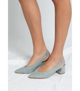 Zapatos Beatrice Celeste