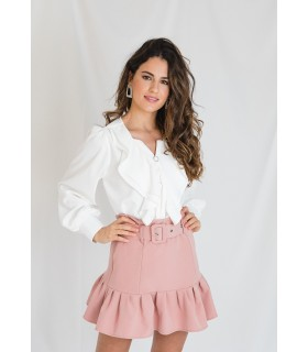 Falda Anette Rosa